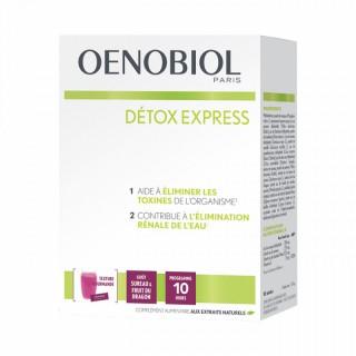 Oenobiol Détox Express sureau-fruit du dragon - 10 sticks