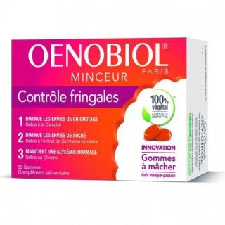 Oenobiol Contrôle fringales - 50 gommes