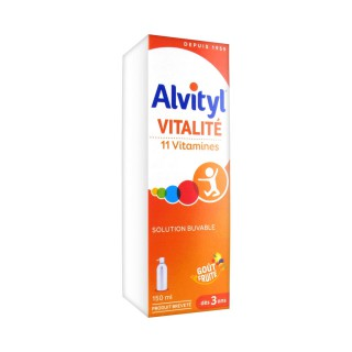 Alvityl solution multivitaminée - 150 ml