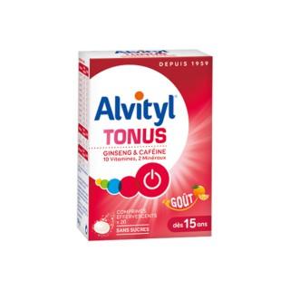 Alvityl Tonus - 20 comprimés effervescents
