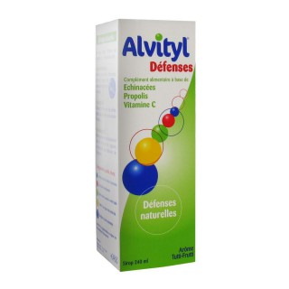 Alvityl Défenses sirop - 240 ml