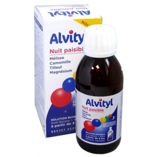 Alvityl Nuit paisible solution buvable goût banane - 150 ml