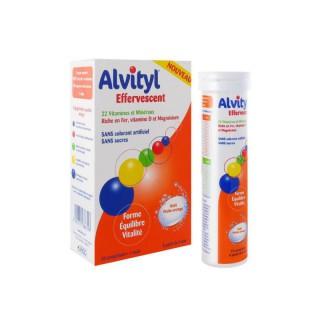 Alvityl Vitalité goût orange - 30 comprimés effervescents