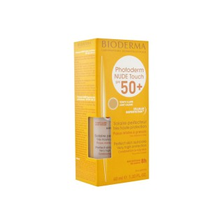 Bioderma Photoderm Nude Touch teinte claire indice 50+ - 40 ml