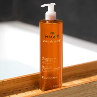 Nuxe Rêve de Miel gel lavant surgras visage et corps - 400 ml