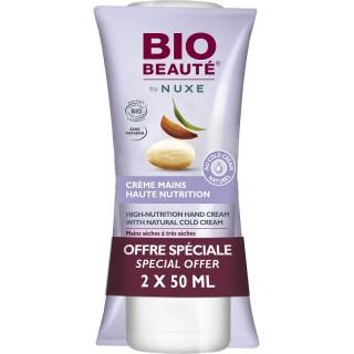 Bio Beauté by Nuxe Crème mains haute nutrition - Lot de 2 x 50 ml
