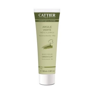 CATTIER ARGILE VERTE Tube 100ML