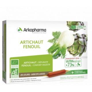 Arkofluides confort digestif Bio - 20 ampoules