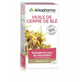 Arkogélules huile de germe de blé - 60 capsules