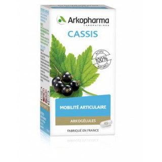 Arkogélules cassis - 45 gélules