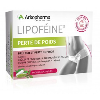 Lipoféine perte de poids - 60 gélules