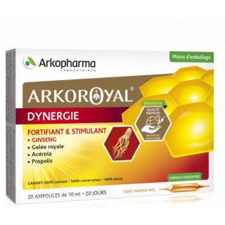 ArkoRoyal Dynergie - 20 ampoules
