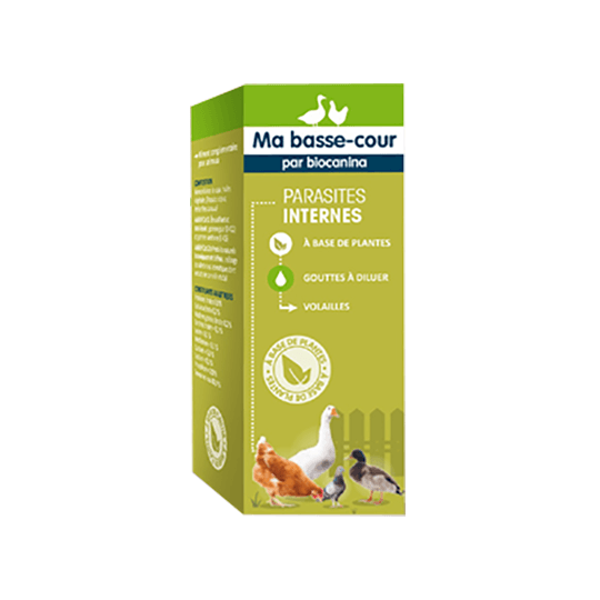 Biocanina Ma Basse-cour Volaille parasites internes - 30ml
