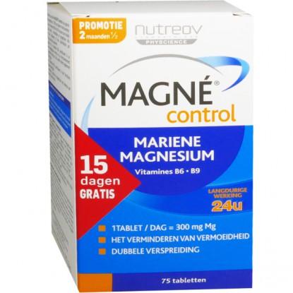 Nutreov Magne control Magnesium marin 75 cp - PurePara