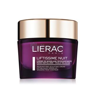 Liérac Liftissime Nuit crème de modelage redensifiante - 50ml