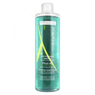A-Derma Phys-Ac gel moussant purifiant - 400 ml