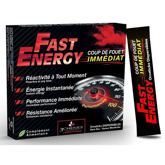 Les 3 Chênes Fast Energy - 7 sticks