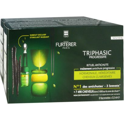 Rene Furterer Triphasic Regenerating Serum Anti-hair loss