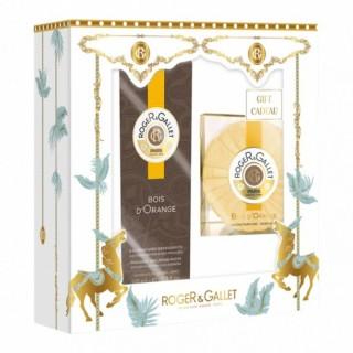 Roger & Gallet eau de parfum & savon bois d'orange - 100ml + 100g offert