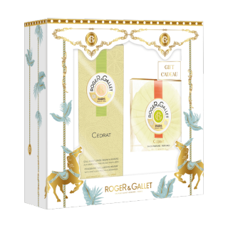Roger & Gallet eau de parfum & savon Cédrat - 100ml + 100g offert