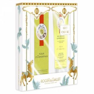 Roger & Gallet eau de parfum & gel douche Fleur d'Osmanthus - 30ml + 50ml