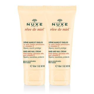 Nuxe Rêve de Miel Creme Mains 75ml Duo