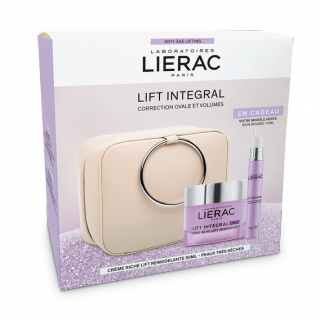 Liérac Coffret Lift Intégral Nutri-crème lift remodelante 50ml + soin regard 15ml Offert