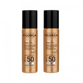 Filorga UV-Bronze brume solaire SPF50 - Lot de 2 x 60ml