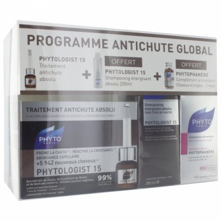Phyto Programme antichute global - 3 soins