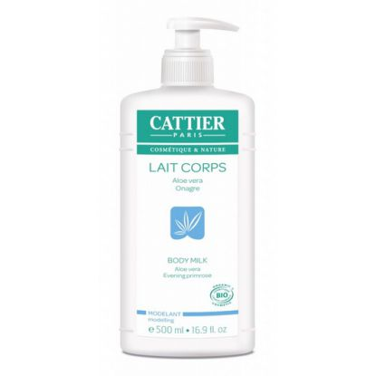 CATTIER LAIT CORPS ALOE VERA 500ML