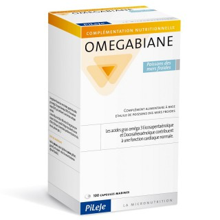 Pileje Omegabiane Poissons des mers froides - 100 capsules