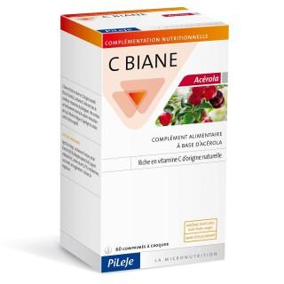 Pileje C biane Acerola 60 comprimés