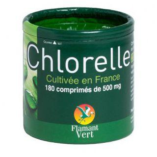Chlorella Flamant Vert 300 tabs  300mg