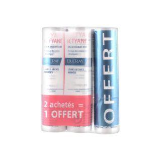 Ducray Ictyane 2 sticks lèvres + 1 OFFERT