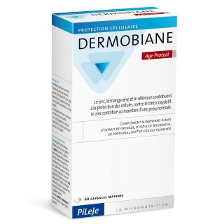Pileje Dermobiane Age Protect - 60 capsules marines