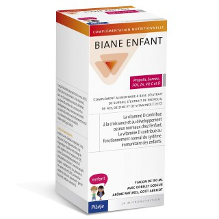 Biane Kids Propolis, Elderberry, FOS, Zn, Vitamin C and D 150ml
