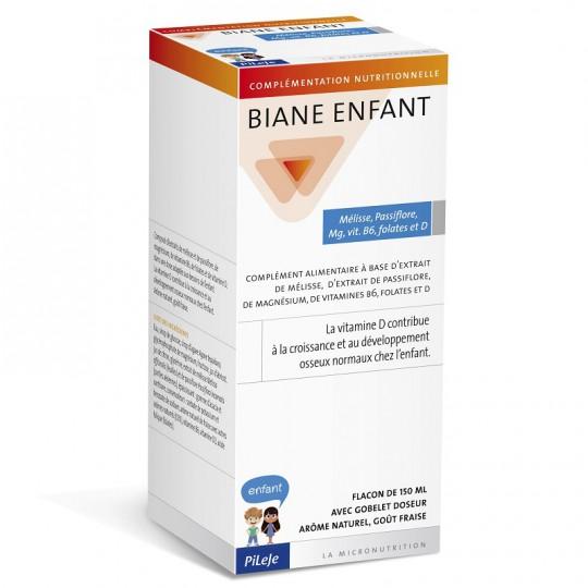 Pileje Biane Enfant Mélisse & Passiflore - Flacon de 150ml