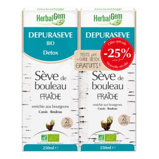 HerbalGem Depuraseve Bio LOT2X 250ml