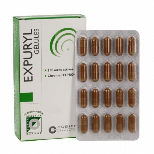 Codifra Expuryl - Draineur - 60 gélules