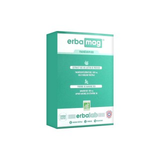 Erbalab Erbamag - Magnésium bio - 45 gélules