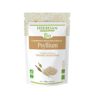 Herbesan Psyllium Bio - Sachet de 200g