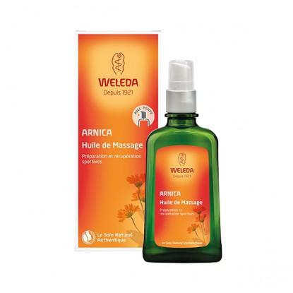 Weleda huile de massage à l'Arnica - Flacon pompe de 100ml
