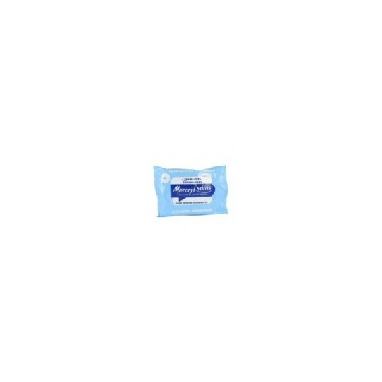 Mercryl lingettes desinfectantes bte 15