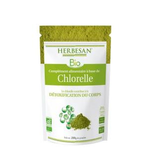 Herbesan Chlorelle Bio - Sachet de 200g