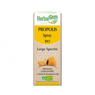HerbalGem Propolis spray bio - 15ml