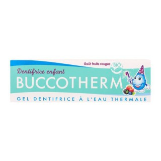 Buccotherm Gel dentifrice enfants bio goût fruits rouges - 50ml