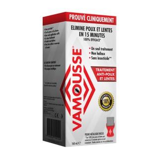 Vamousse Mousse anti-poux et lentes - 160ml