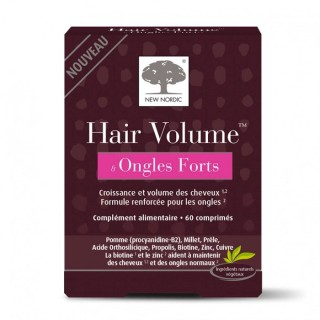 New Nordic Hair volume et ongles forts - 60 comprimés
