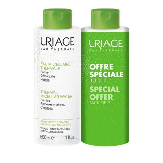 Uriage Eau micellaire thermale - 2 x 500ml
