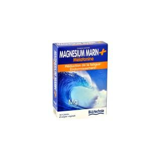 Magnesium marin + melatonin 30 gélules